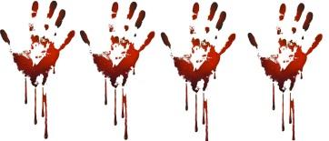 4 handprints